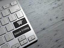 Sexta-feira preta, vendas da tecnologia, compra em linha, compra oferece ilustração royalty free