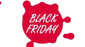 Sexta-feira 4 preto k ilustração stock