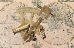 Sextant Royalty Free Stock Photography