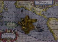 sextant stock afbeelding