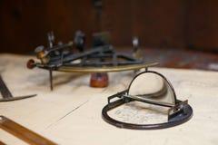 sextant stock foto's