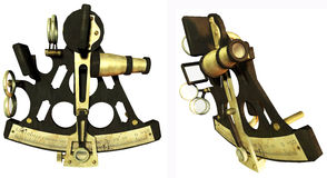 Sextant instruments Stock Photography