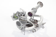 Sextant on white background Stock Image