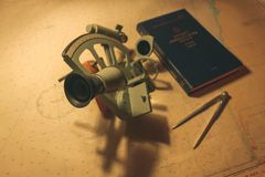 sextante Fotos de archivo