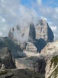 Sexten Dolomites; Drei Zinnen Royalty Free Stock Photo