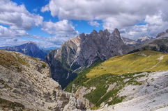 Sexten Dolomites in Italy Royalty Free Stock Images