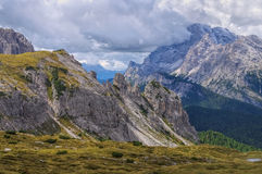 Sexten Dolomites in Italy Royalty Free Stock Image