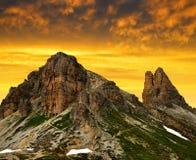 Sexten Dolomites, Italy Stock Images