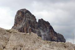 Sexten Dolomites mountain Zwolferkofel in South Tyrol Stock Image
