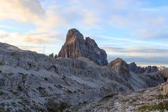 Sexten Dolomites mountain Zwolferkofel in South Tyrol Royalty Free Stock Photography