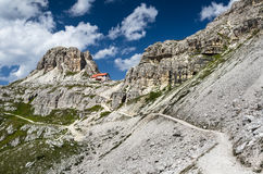 Sexten Dolomites in South Tyrol, Italy Royalty Free Stock Photography