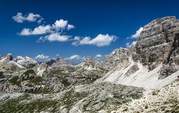 Sexten Dolomites in South Tyrol, Italy Royalty Free Stock Images