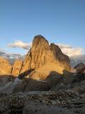 Sexten Dolomites; Zwoelferkofel Stock Photography