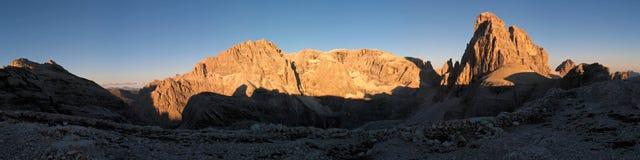 Sexten Dolomites; Zwoelferkofel Stock Images