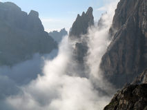 Sexten Dolomites; Zwoelferkofel Royalty Free Stock Image