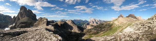 Sexten Dolomites; Zwoelferkofel Royalty Free Stock Photography