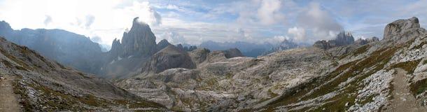 Sexten Dolomites; Zwoelferkofel Stock Photos