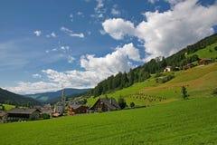 Sexten- Val Pusteria - dolomía Italia Fotografía de archivo libre de regalías