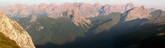 Sextener Dolomiten Royalty Free Stock Photography