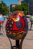 Sexto festival totalmente ucraniano de los huevos de Pascua Imagen de archivo