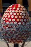 Sexto festival totalmente ucraniano de los huevos de Pascua Foto de archivo