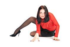 Sexual brunette Stock Photo