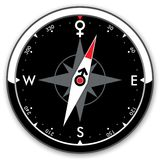 Sexual compass Stock Photography