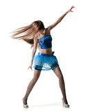 Sexual dancer Royalty Free Stock Image