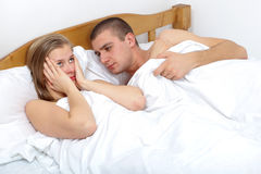 Sexual dysfunction Stock Image