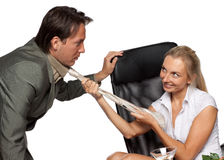 Sexual Harassment Stock Image