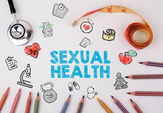 Sexual Health concept. Healty lifestyle background Stock Photos