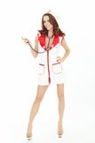 Sexual nurse Stock Image