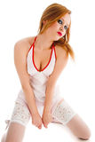 Sexual nurse Royalty Free Stock Images