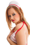 Sexual nurse Royalty Free Stock Photo