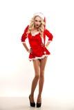 Sexual Santa Stock Photography