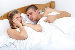 Sexuell dysfunction Fotografering för Bildbyråer