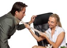 Sexuelle Belästigung stockbild