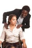 Sexuelle Belästigung Lizenzfreies Stockfoto