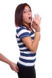 Sexuelles harassmant Stockfoto