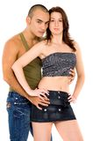 Sexy adult couple Stock Photography