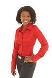 Sexy african businesswoman Stock Images