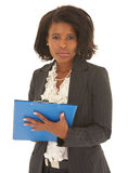 Sexy african businesswoman Stock Photography