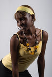 Sexy african  girl Royalty Free Stock Images