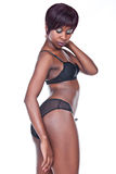 Sexy african lingerie Stock Images