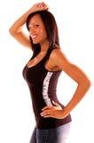 Sexy Afrikaanse Amerikaanse Vrouw royalty-vrije stock fotografie