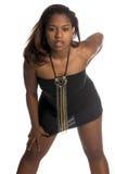Sexy Afrikaanse Vrouw royalty-vrije stock fotografie