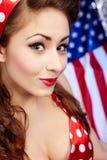 American  Girl Royalty Free Stock Photos