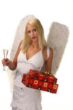 Sexy angel Stock Image