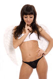 Sexy angel Stock Photo