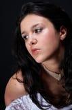 Sexy Arabische brunette Stock Afbeelding
